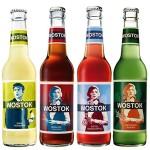 """Wostok - Limonaden Probier-Set  """"4 Flaschen"""""""